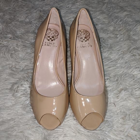 Franco Sarto Shoes   525 Artisan Patent Leather Peep Toe